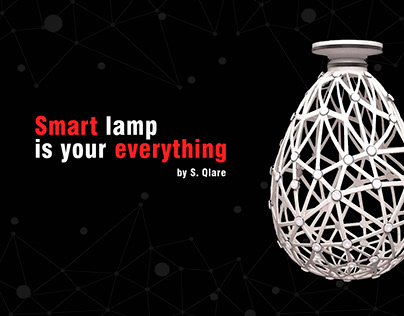 Smart lamp is your everything