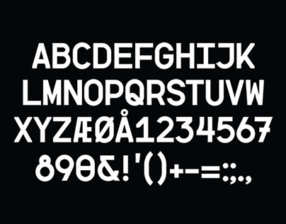 BB. Perfume Typeface