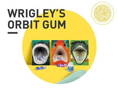 Orbit Gum - symbiosis posters