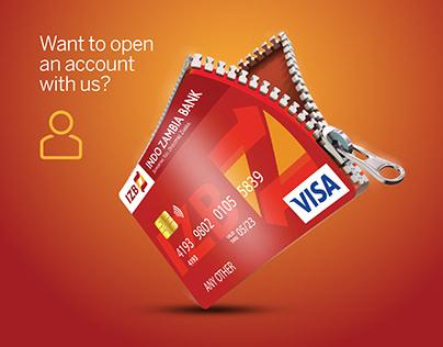 Indo Zambia Bank Social Media Posts