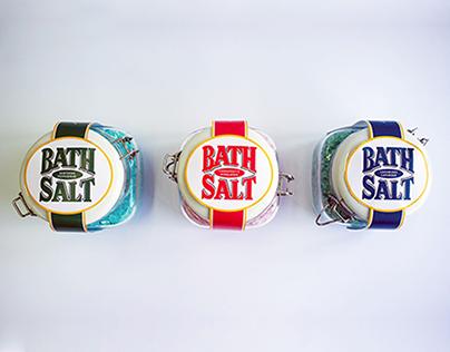 Brand Extension - Saxa Bath Salt