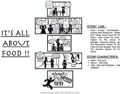 STORY LINE - COMIC