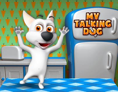 My Talking Dog - Virtual Pet Game
