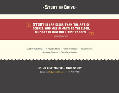 Story and Drive