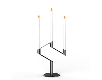 Candle holder & packaging design