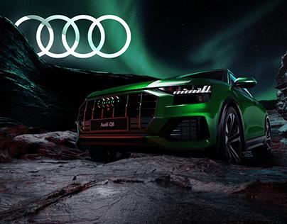 Audi Q8 CGI & Retouching