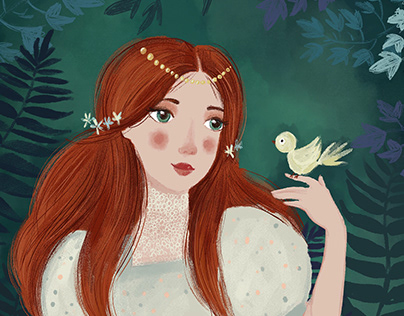 Sleeping Beauty illustrations