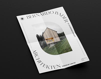 Bernardo Bader architekten - redesign concept