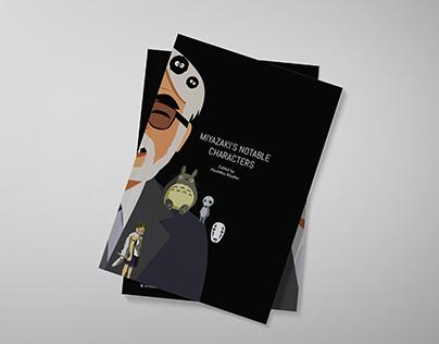 Miyazaki's Notable Characters (Coffee Table Book)