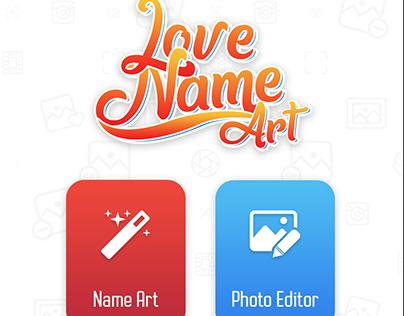 Love Name Art
