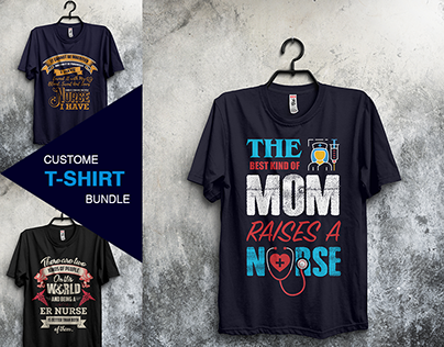 Nurse T-Shirt Designs Bundle