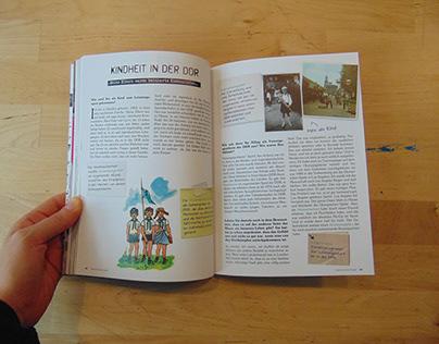 """Book Design: """"Geteilte Ansichten"""""""