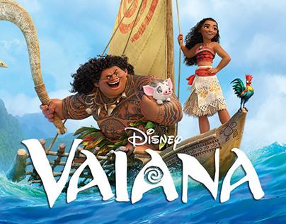 Vaiana (Moana) Disney, Grabación y postproducción