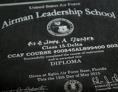 Airman Leadership School Diploma