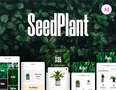 SeedPlant - A Free E-Commerce App UI