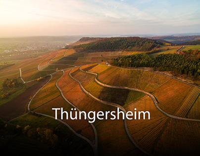 Luftbilder von Thüngersheim