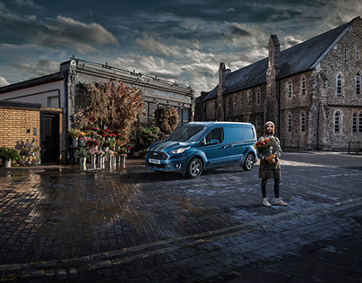 Backbone of Britain press & billboard campaign Ford CVs