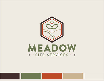 Brand Identity Design for Meadow Site Services