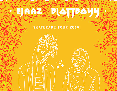 Ejaaz and Blottboyy Tour Poster