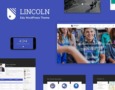 Lincoln | Educational Material Design Template