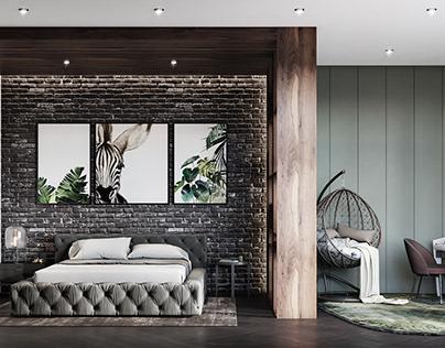 π bedroom