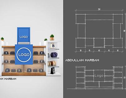 Modern Kiosk | Dubai Mall |.