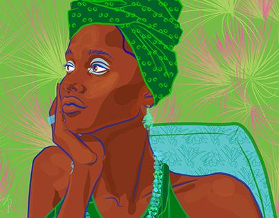 Martinique Illustrations