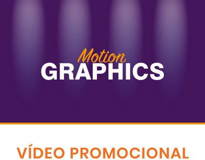 Motion Graphics - Vídeo Promocional