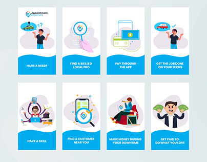 Appointment Booking Infograhic Design