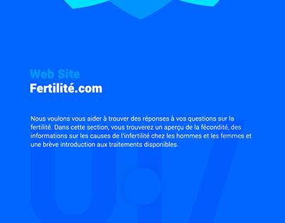 Ui/Ux fertilité.com