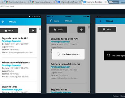 CoahLine App Multiplataforma para gestión de tareas
