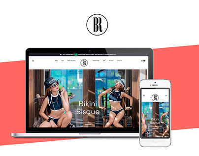 Web Design & Development e-Commerce Store - Bikini