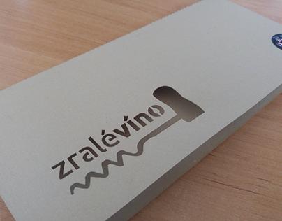 vyřezávaný obal laserem z grafického papíru