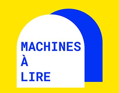 Machine à lire   Salon du livre de Montréal