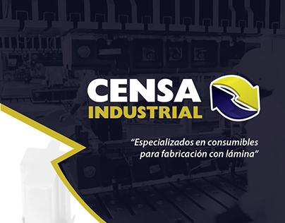 Rediseño de identidad Censa Industrial