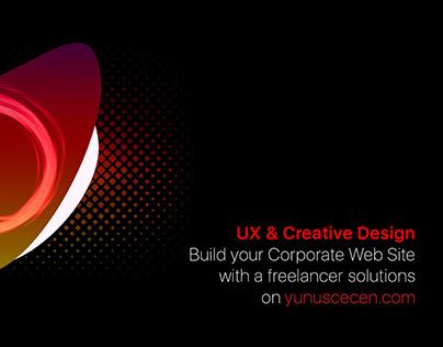Freelancer Web Site Services Creative Banner Design