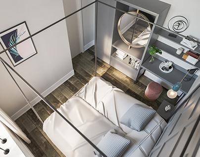 Kraków / Bedroom