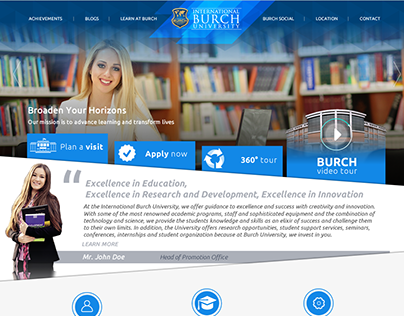 BURCH Prospective Web Theme