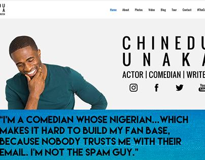 Chinedu Unaka Website Refresh