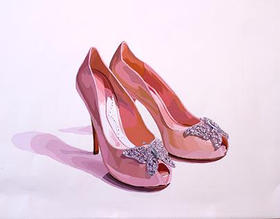 Ilustración de calzado