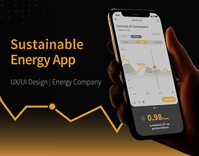 Sustainable Energy App | UX/UI Design