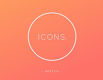 Icons Design // Thin Line //