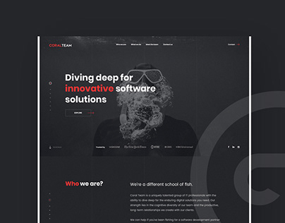 CoralTeam - Website Project.