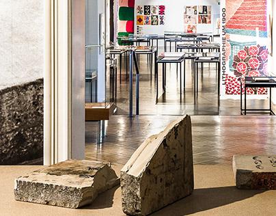 Lithography Exhibition Design
