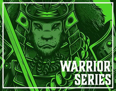 Warrior Series   T-Shirt Designs Collection