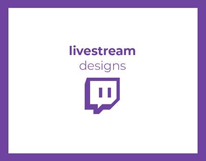 Livestream Designs   2017 - 2019