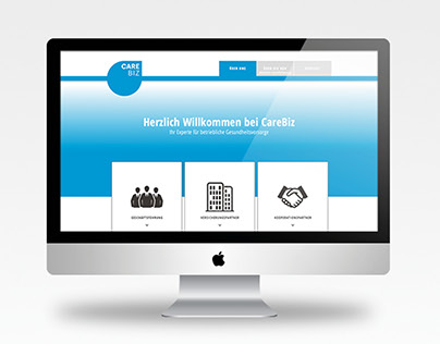 CareBiz / Web Design