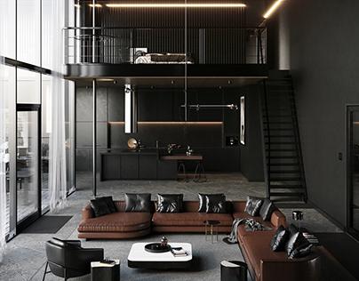 The Loft Apartment by Jeffrey Tanate
