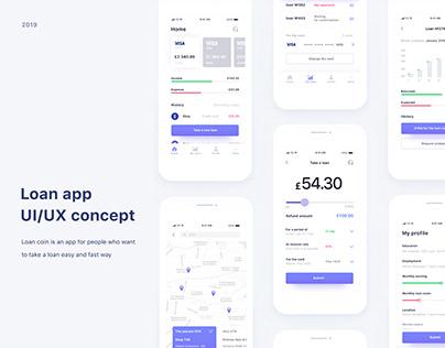 Loan APP concept for IOS