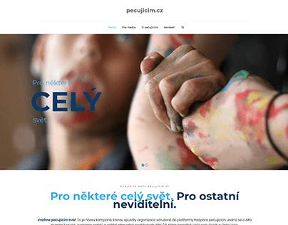 Pecujicim.cz website